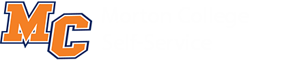 Morton College Self-Service